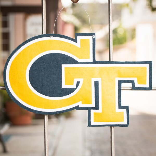 Georgia Tech Logo Burlee Wall Decor by Glory Haus