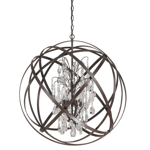 Adcock 6-Light Chandelier by Everly Quinn