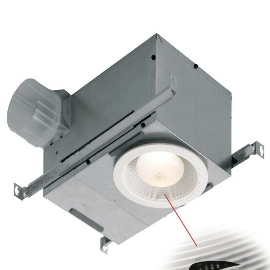 Humidity Sensing Fan/Fluorescent Light Recessed Trim by Broan