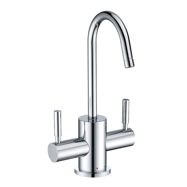 Point of Use Double Handle Kitchen Faucet by Whitehaus Collection