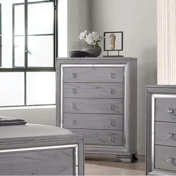 Orrwell 5 Drawer Chest by Everly Quinn Everly Quinn