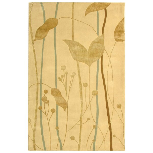 Rodeo Drive Ivory/Gold Area Rug by Safavieh