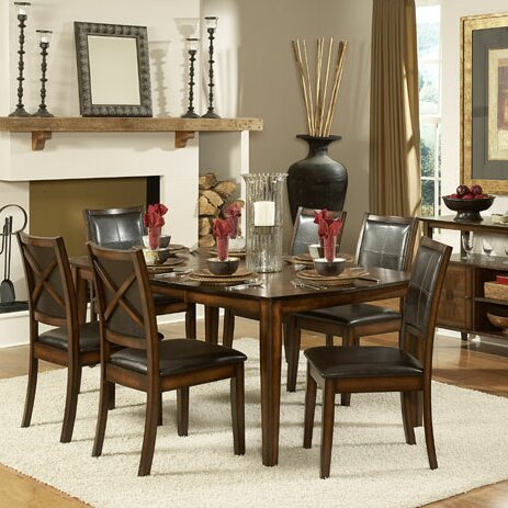 Verona 7 Piece Dining Set by Woodhaven Hill