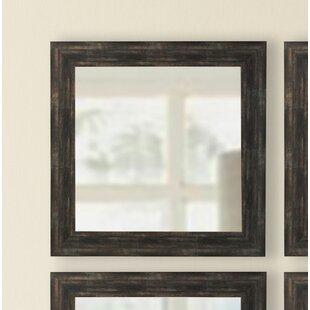 Square Wall Mirror (Set of 4) by Brayden Studio