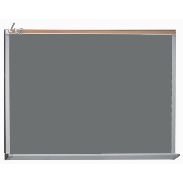 Architectural High Performance Magnetic Wall Mounted Chalkboard by AARCO