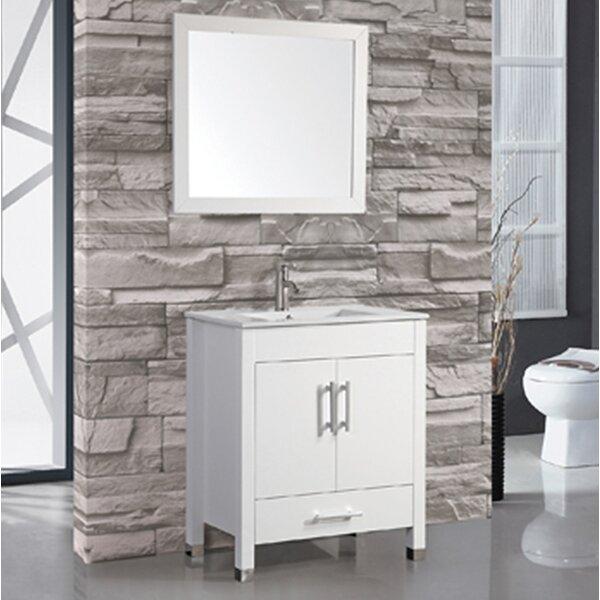 Prahl 24 Single Sink Bathroom Vanity Set with Mirror by Orren Ellis