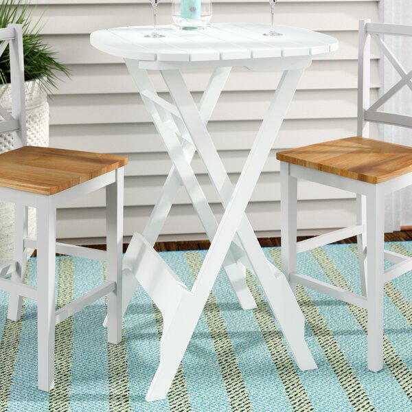 Quebec Bistro Table by Andover Mills