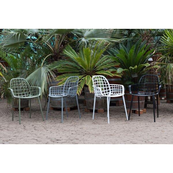 Albert Kuip Molded Outdoor Patio Chair (Set of 2) by Zuiver