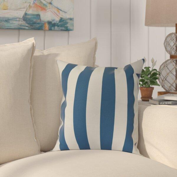 Westfield Stripe Outdoor Throw Pillow by Beachcrest Home