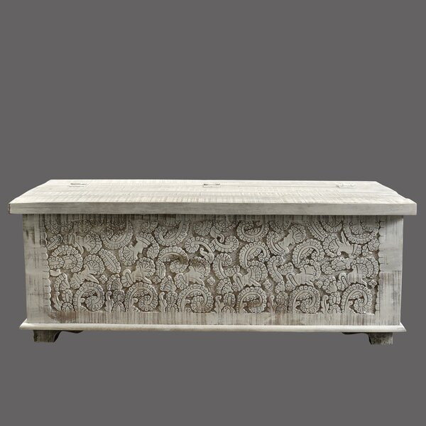 Riddell Carved Panel Trunk by World Menagerie World Menagerie