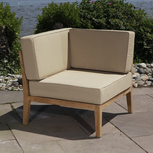 Bali Teak Patio chair with Cushions by Madbury Road