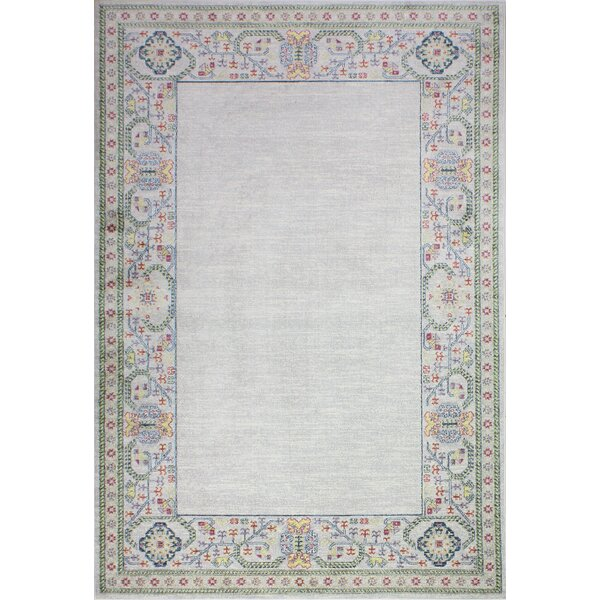 Goldie Ivory Area Rug by Bungalow Rose