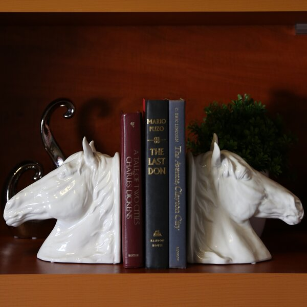 Horse Head Book End by Urban Trends
