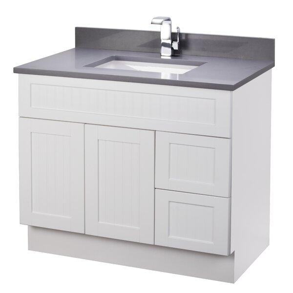 Stratford Cottage 37 Single Bathroom Vanity Set by Cutler Kitchen & Bath