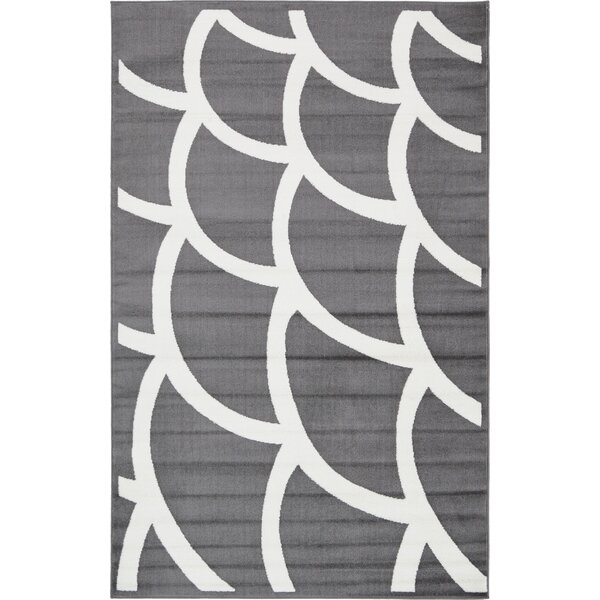 Sidney Gray Area Rug by Wrought Studio