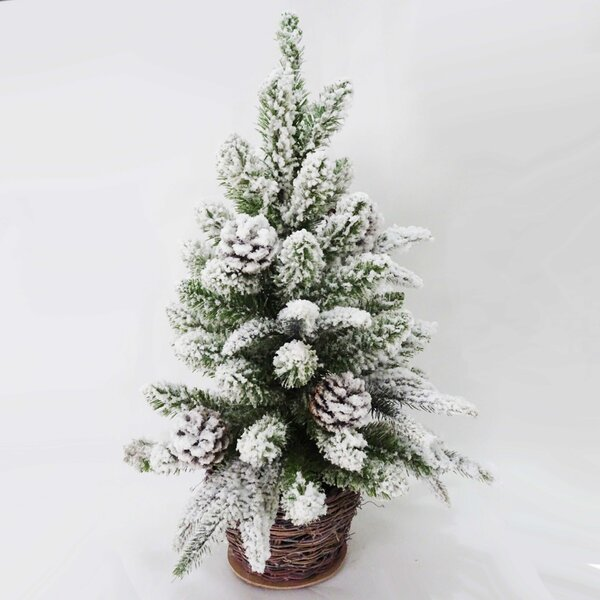24 Pine Artificial Christmas Tree with Pinecones by Kurt Adler