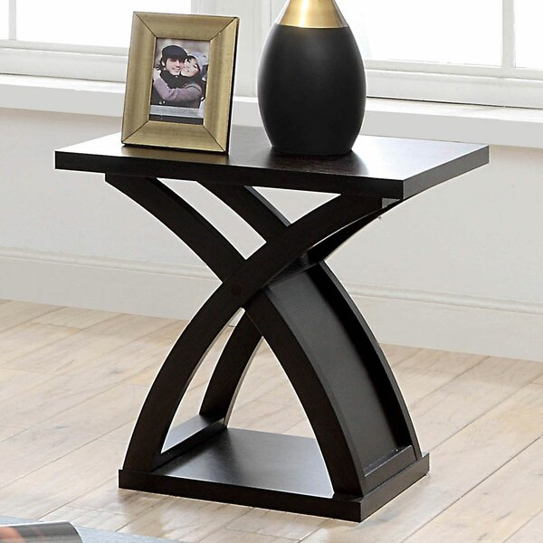 Farmer End Table by Brayden Studio
