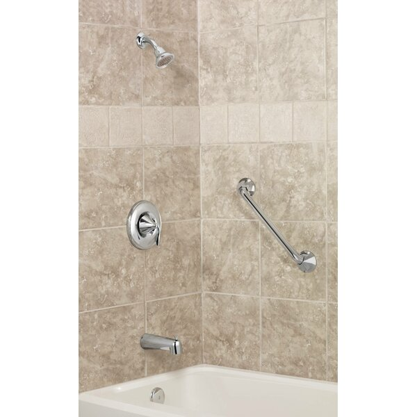 Eva Tub and Shower Faucet Trim with Posi-Temp by Moen