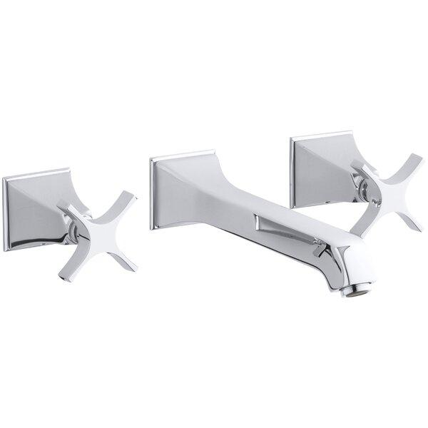 Memoirs Wall-Mount Bathroom Sink Faucet Trim with Cross Handles, Requires Valve by Kohler