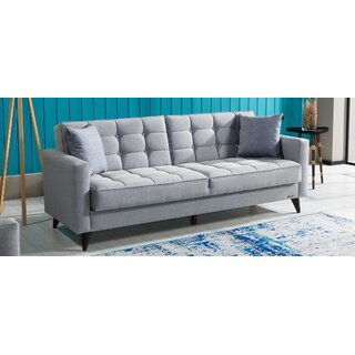 Orlando Convertible Sleeper Sofa, Gray by Brayden Studio SKU:AD672962 Shop