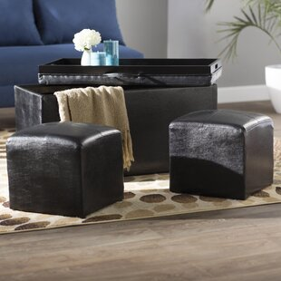 Marla 3 Piece Ottoman Zipcode Design