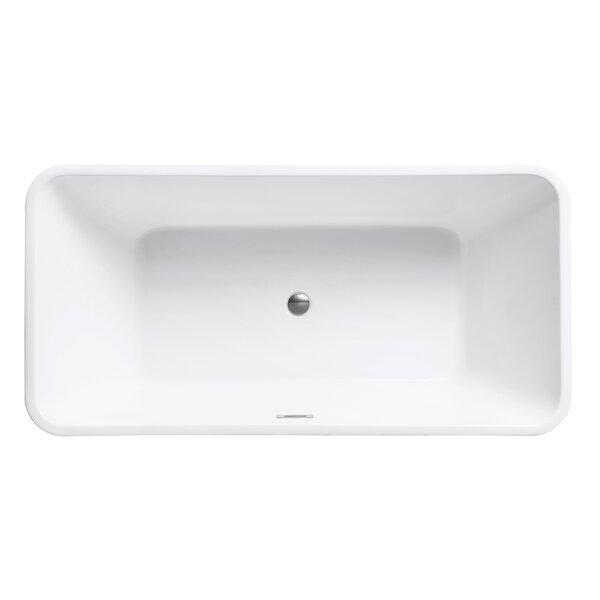63 H x 32 W Soaking Bathtub by Avanity