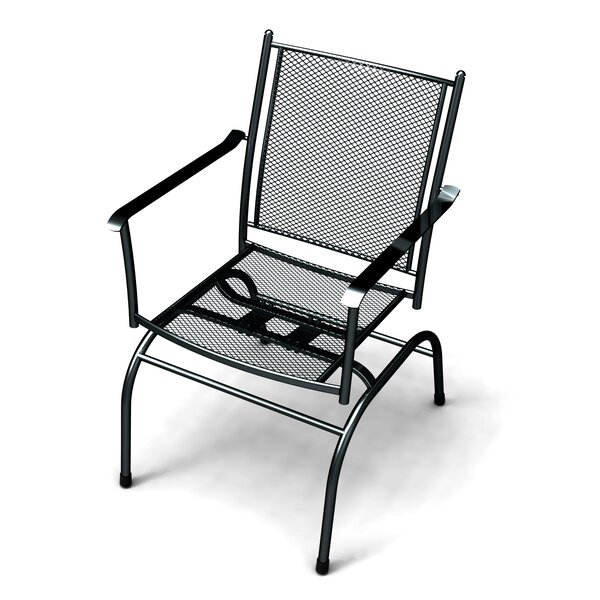 Rangel Patio Dining Chair (Set of 2) by Wrought Studio