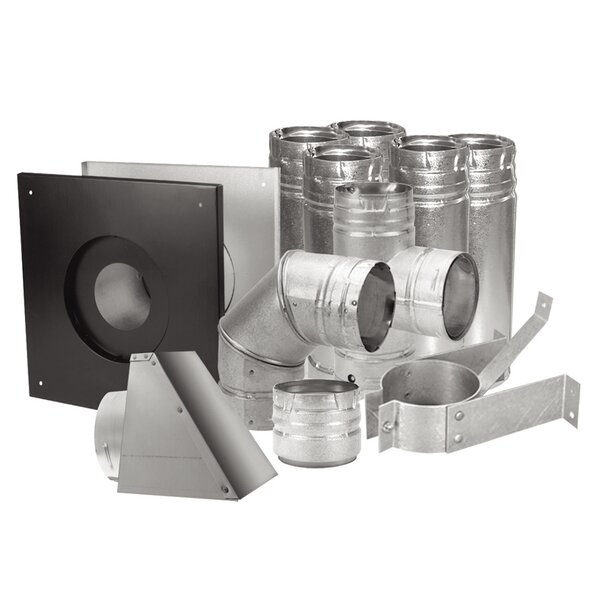 Duravent Pellet Stove Vent Set By United States Stove Company