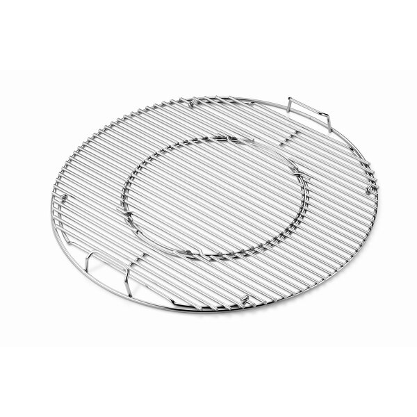 Gourmet BBQ System Hinged Plated Cooking Grate Set by Weber