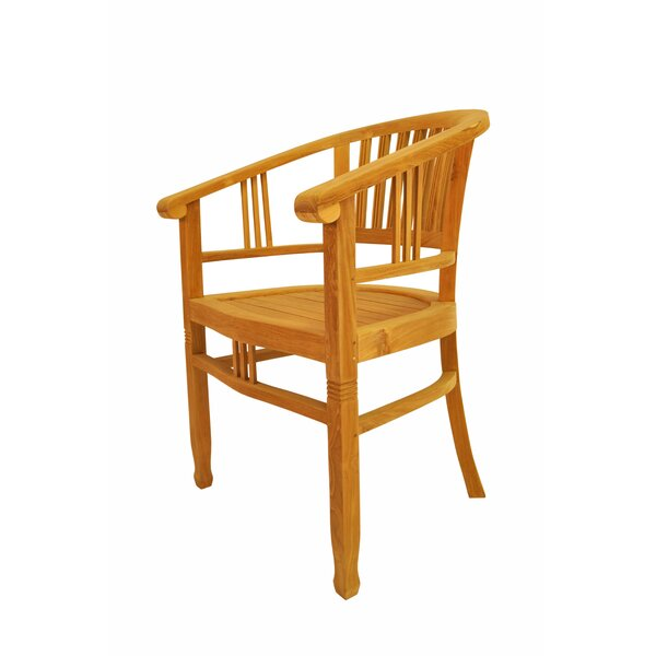 Captain Teak Patio Chair by Anderson Teak