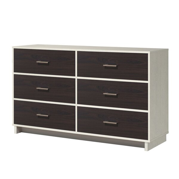 Chicopee 6 Drawer Double Dresser by Zipcode Design