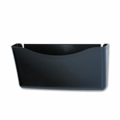 Unbreakable Magnetic Wall File, A4/Letter, Smoke by Rubbermaid