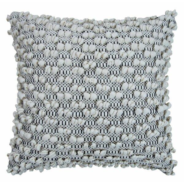 Coraline Cotton Indoor / Outdoor Striped 18'' Throw Pillow