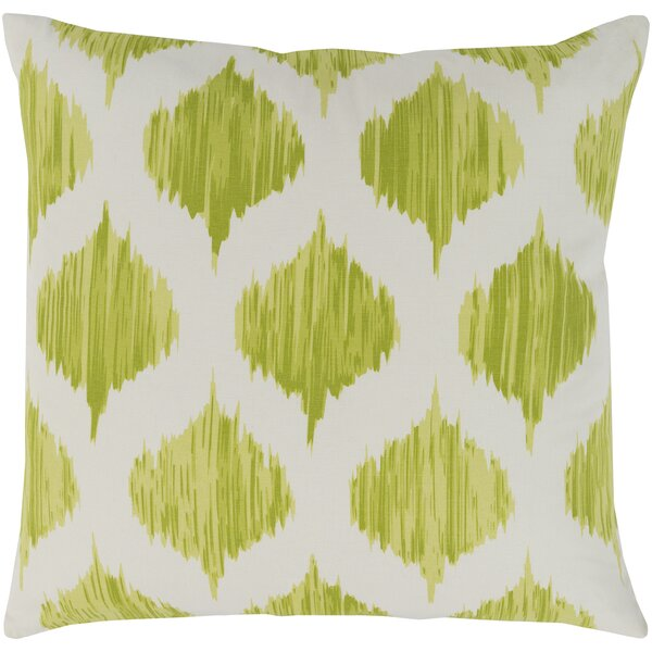 Ogee Cotton Throw Pillow Cover by Surya