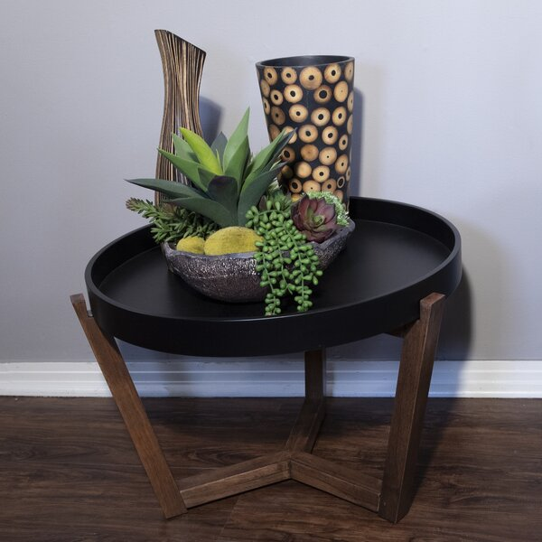 Drowne Solid Wood Tray Top Frame End Table By Brayden Studio