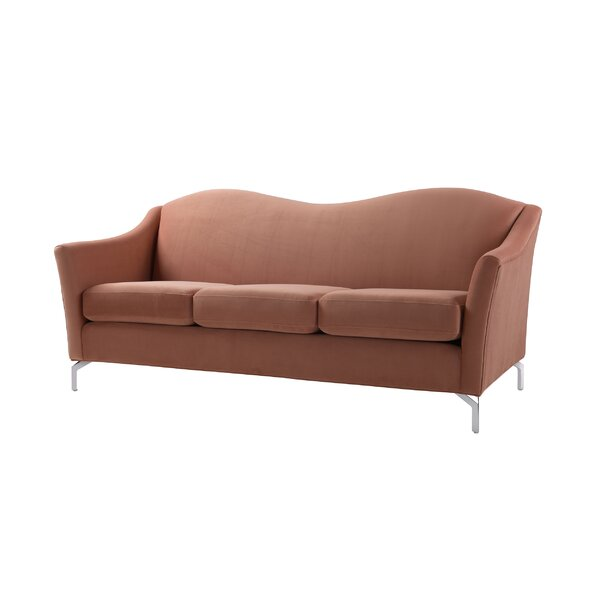 Alrai Camel back Sofa by Everly Quinn
