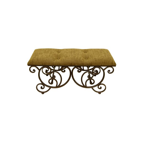 Coggeshall Upholstered Bench by Fleur De Lis Living
