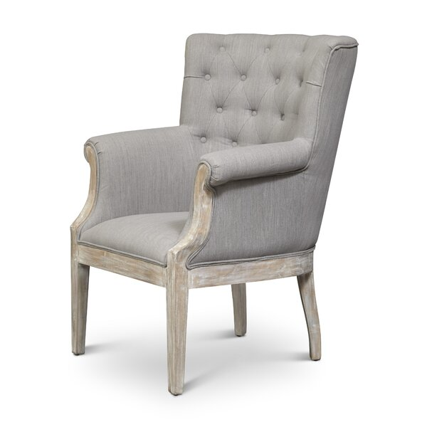 Yerres Wingback Chair by One Allium Way