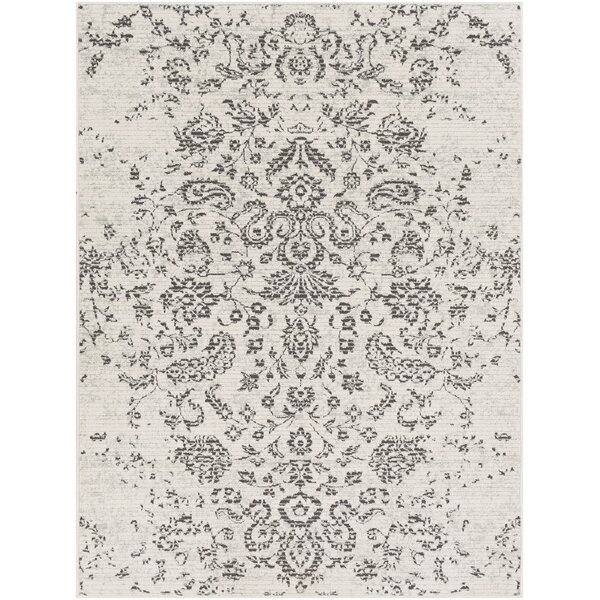 Didama Distressed Taupe/Beige Area Rug by House of Hampton