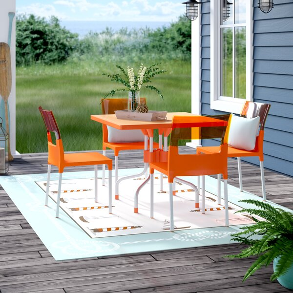 Slezak 5 Piece Dining Set by Brayden Studio