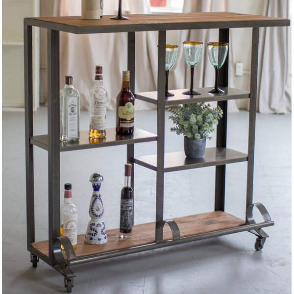 Huxley Bar Cart by Gracie Oaks