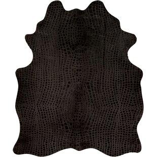 Read Reviews Bretta Black Area Rug ByWilla Arlo Interiors