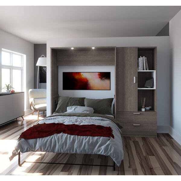 Medan Storage Murphy Bed By Wade Logan by Wade Logan No Copoun