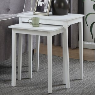 Steinman 2 Piece Nesting Tables Charlton Home
