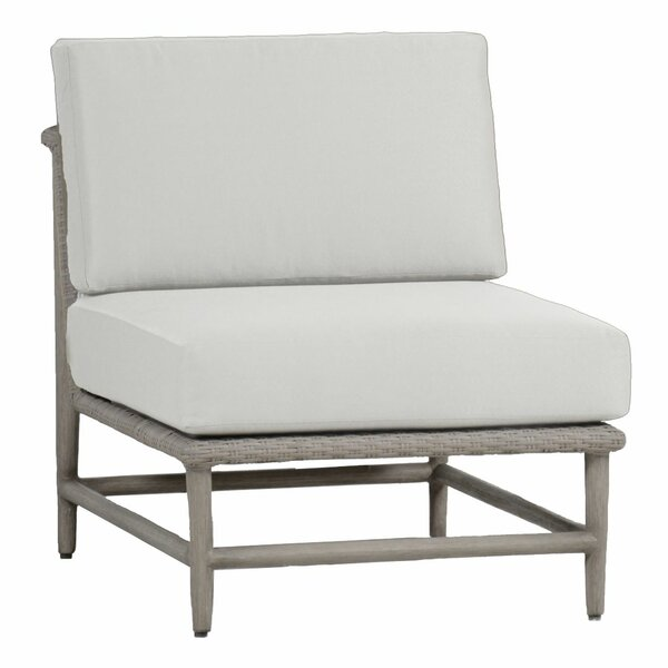 Wind Slipper Patio Chair with Cushion by Summer Classics