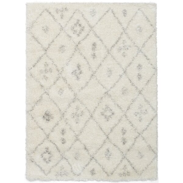 Hester Street Cream Area Rug by Bloomsbury Market