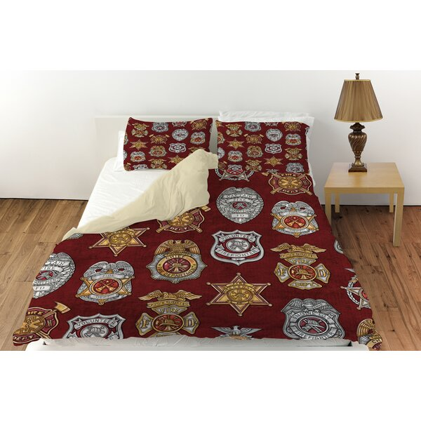 Firefighter Badges Duvet Cover Collection