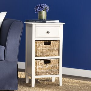 Deepwater End Table With Storage by Breakwater Bay