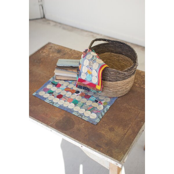 Recycled Kantha Patch Placemat (Set of 6) by Kalalou