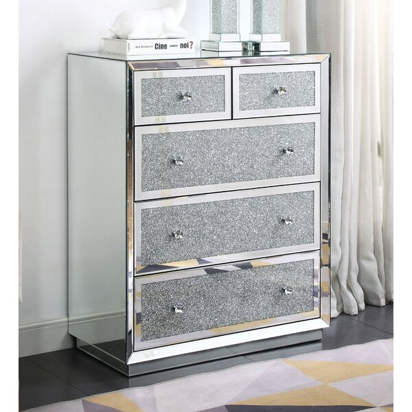 Bjorn 5 Drawer Chest by Rosdorf Park